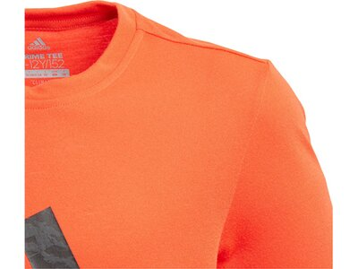 ADIDAS Kinder Trainingsshirt Prime Logo Tee Schwarz
