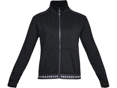 UNDERARMOUR Damen Trainingsjacke Schwarz
