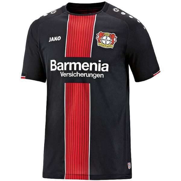JAKO Herren Fußballtrikot Bayer 04 Leverkusen Home Kurzarm