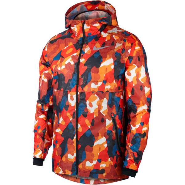 NIKE Herren Laufjacke Shield Ghost Flash | Sportbekleidung > Sportjacken > Laufjacken | Red - Black | Nike