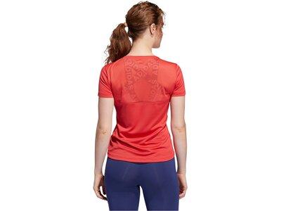 "ADIDAS Damen T-Shirt ""Own the run"" Rot"