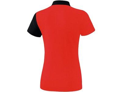 ERIMA Fußball - Teamsport Textil - Poloshirts 5-C Poloshirt Damen Rot