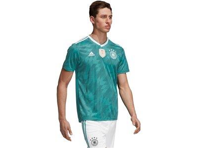 """ADIDAS Herren Fußballtrikot """"DFB Away Jersey"""" WM 2018 Grün"""