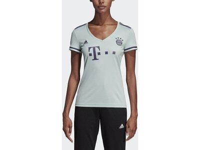 ADIDAS Damen FC Bayern München Auswärtstrikot Weiß
