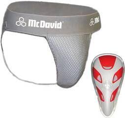 MCDAVID Herren Suspensorium HEXMESH mit Flex-Cup Ultralite