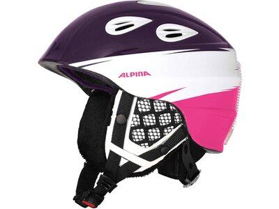 "ALPINA Kinder Skihelm / Snowboardhelm ""Grap 2.0 Jr."" Grau"