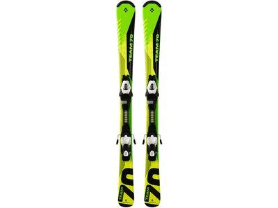 """TECNOPRO Kinder Skier """"Pulse Team 70 ET"""" inklusive Bindung """"ETC45/ETL75"""" Gelb"""