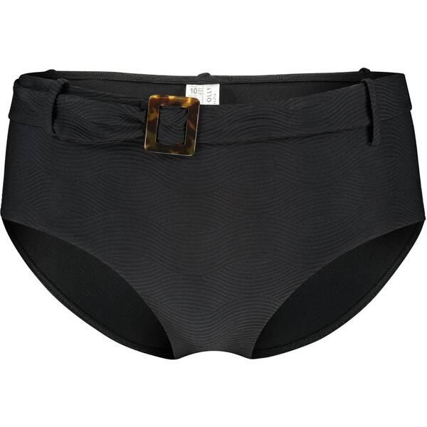 Bademode - SEAFOLLY Damen Bikinihose Capri Sea Wide Side Retro › Schwarz  - Onlineshop Intersport