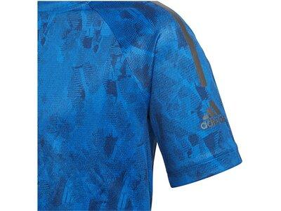 ADIDAS Kinder Trainingsshirt Cool Tee Blau