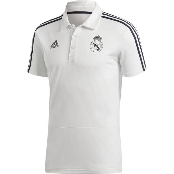 ADIDAS Herren Fußball Poloshirt Real Madrid Saison 2018/19 Kurzarm