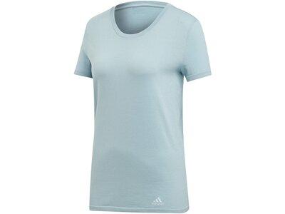 """ADIDAS Damen Laufshirt """"25/7"""" Kurzarm Silber"""