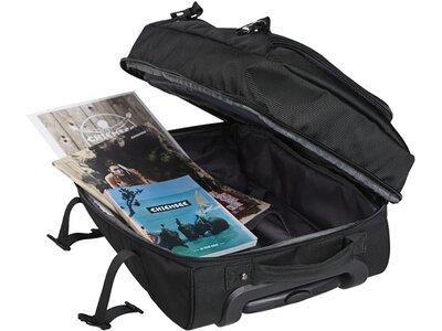 CHIEMSEE Reisetasche mit höhenverstellbarem Griff Schwarz