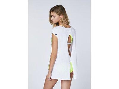 CHIEMSEE T-Shirt hinten unten zu Knoten - GOTS zertifiziert Weiß
