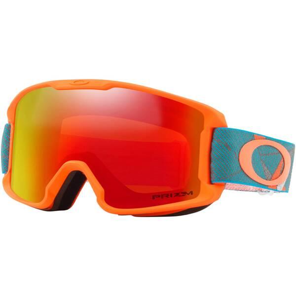 "OAKLEY Kinder Ski- und Snowboardbrille ""Line Miner Youth Prizmatic Org Sea"""