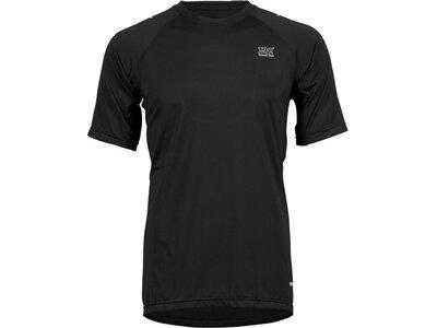 TAO Atmungsaktives Herren kurzarm T-Shirt PINO Schwarz