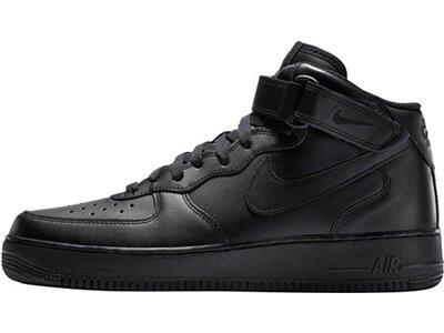 "NIKE Herren Sneaker ""Air Force 1 Mid 07"" Schwarz"