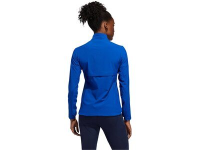 ADIDAS Damen Trainingsjacke Blau
