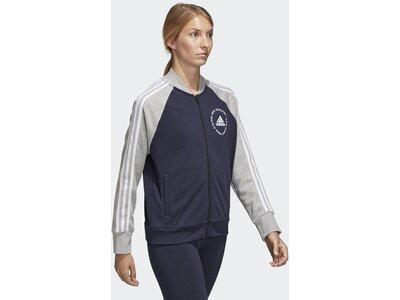 ADIDAS Damen Sport ID Bomberjacke Grau