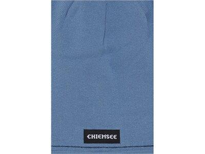 CHIEMSEE Beanie mit Logo Blau