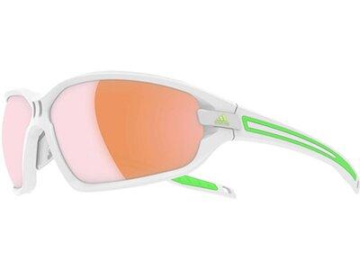 ADIDAS Sonnenbrille Evil Eye Evo S white matt/green Weiß