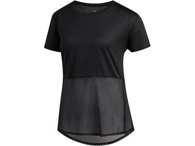 "ADIDAS Damen Laufshirt ""Own the Run"" Schwarz"