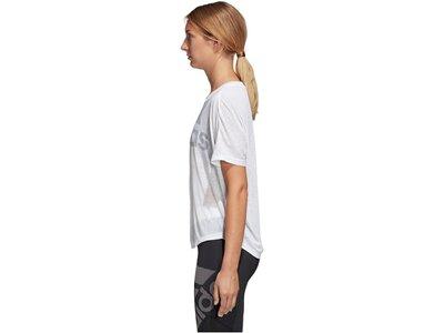 ADIDAS Damen Trainingsshirt Magic Logo Grau