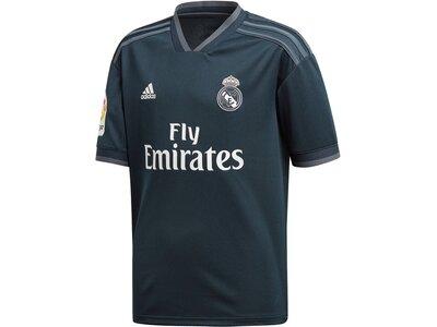 "ADIDAS Kinder Trikot ""Real Madrid Away Jersey"" Saison 2018/2019 Grau"