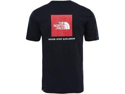 """THENORTHFACE Herren T-Shirt """"Redbox"""" Schwarz"""