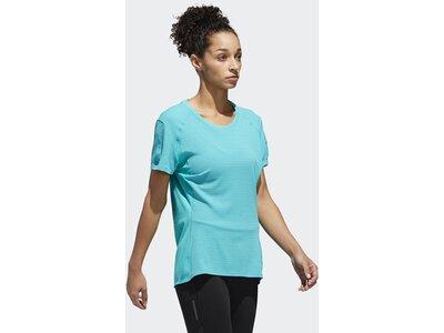 ADIDAS Damen Supernova 37c T-Shirt Blau