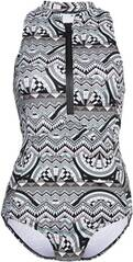 CHIEMSEE High Neck-Badeanzug gemustert mit Reißverschluss