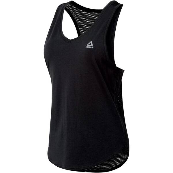 REEBOK Damen Trainings-Tanktop Workout Ready Mesh Tank