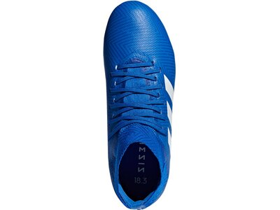 ADIDAS Kinder Fußballschuhe Nemeziz 18.3 FG Blau