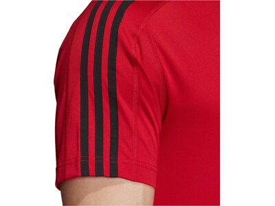 "ADIDAS Herren Trainingsshirt ""Design2Move"" Kurzarm Rot"