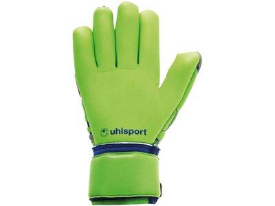 UHLSPORT Equipment - Torwarthandschuhe Tensiongreen Absolutgrip FS Handschuh Grau