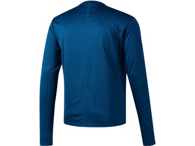 "ADIDAS Herren Laufshirt / Trainingsshirt ""Response Long Sleeve"" Langarm Blau"