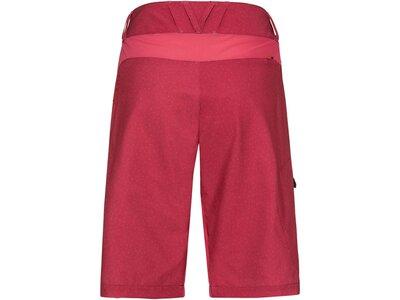 VAUDE Damen Hose Ligure Shorts Rot