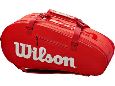 "WILSON Tennistasche ""Large Super Tour 2"" Rot"