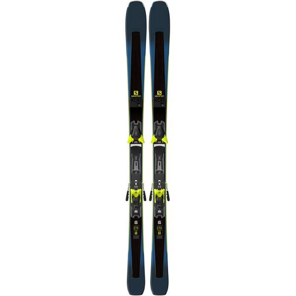 "SALOMON Skier ""XDR 80 Ti"" inkl. Bindung ""Z12 Walk"""