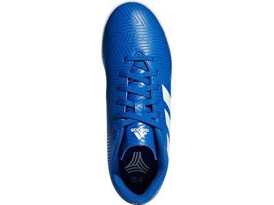 ADIDAS Kinder Fußballschuhe Nemeziz Tango 18.4 IN Blau