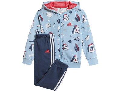 ADIDAS Jungen Baby Trainingsanzug Grau