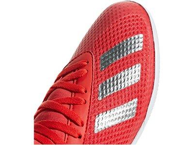 ADIDAS Fußball - Schuhe Kinder - Halle X Virtuso 18.3 IN Halle J Kids Rot