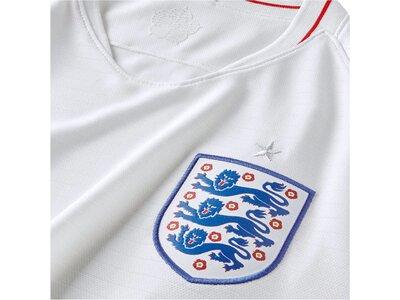 NIKE Herren Fußballtrikot England Stadium Home WM 2018 Weiß