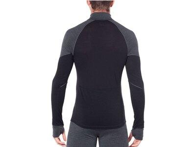 "ICEBREAKER Herren Funktionsunterhemd ""Bodyfitzone 260 Winter Zone Long Sleeve Half Zip"" Schwarz"