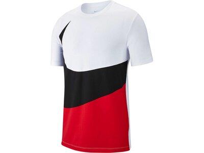 """NIKE Herren T-Shirt """"Swoosh"""" Rot"""