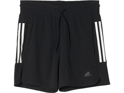 ADIDAS Damen Trainingsshorts Climalite Workout Schwarz