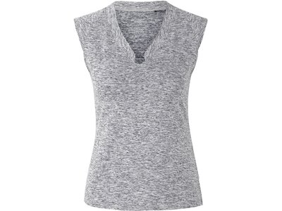 "VENICEBEACH Damen Trainingsshirt ""Eleamee Body-Shirt"" Grau"