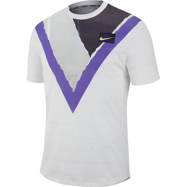 """NIKE Herren Tennis-Shirt """"Challenger"""" Kurzarm"""