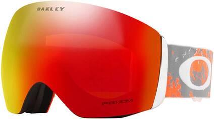 "OAKLEY Skibrille ""Flight Deck - Arctic Fracture Orange"""