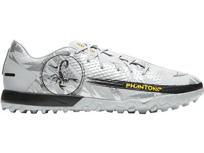 NIKE Fußball - Schuhe - Turf Phantom GT Scorpion Academy TF Silber