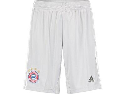 """ADIDAS Kinder Fußballshorts """"FC Bayern München Away 19/20"""" Weiß"""